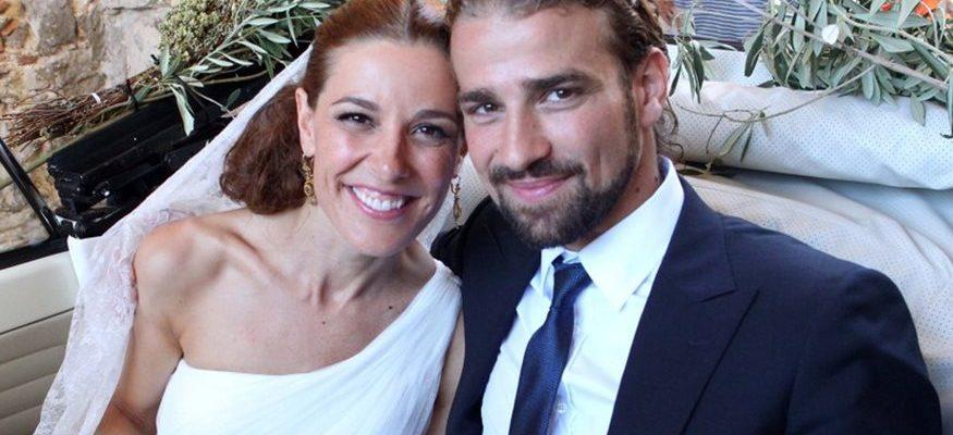 Mario Biondo e la moglie