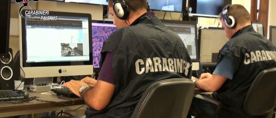 Carabinieri scoprono maxi retata