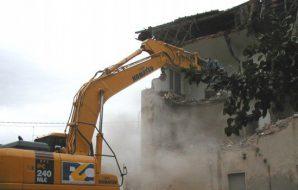 demolizione ville triscina