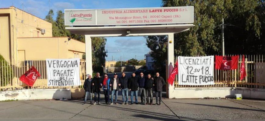 latte puccio dipendenti in sciopero