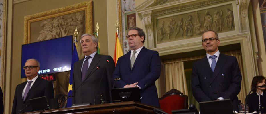 """Micciché a Tajani: """"Siciliani i primi europeisti della storia. Ora vogliamo l'insularità"""""""