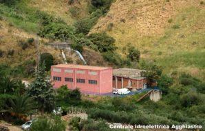 Vista dellla centrale idroelettrica