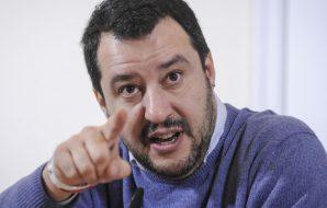 Salvini, i boss africani sono pericolo crescente