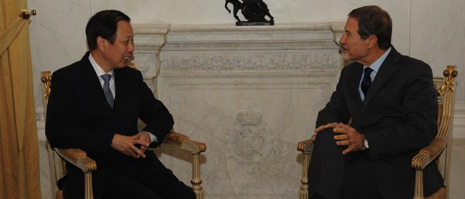musumeci incontra ambasciatore cinese