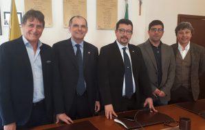 Salvatore Savoca, Elio Ficarra, Igor Gelarda, Francesco Cardella e Francesco Paolo Scarlata