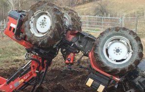 raffadali si ribalta con il trattore, muore un 70enne